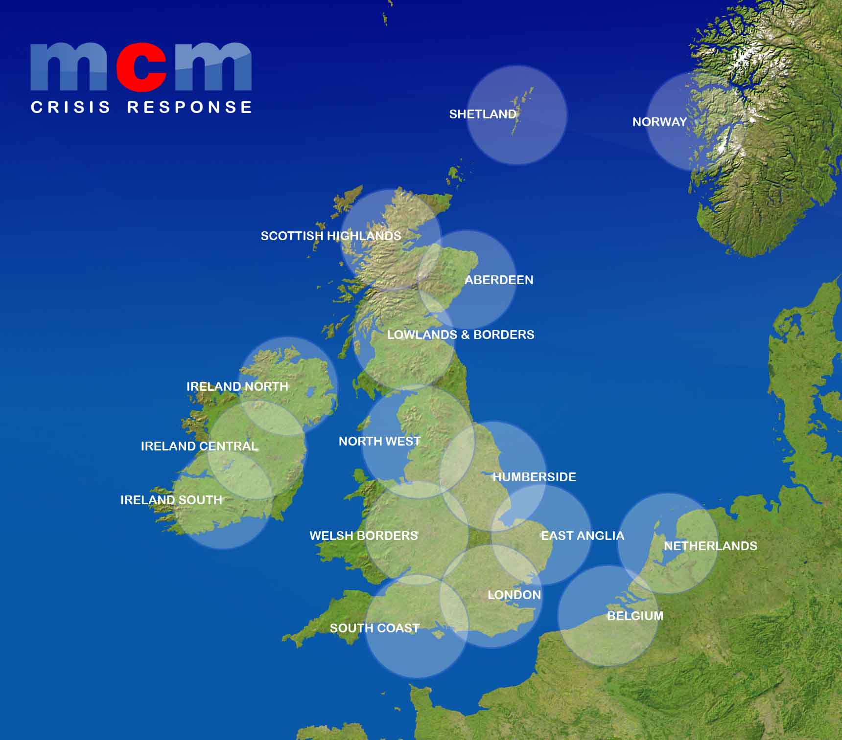 MCM Network Map